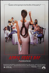 """April Fool's Day and Others Lot (Paramount, 1986). One Sheets (3) (27"""" X 41""""). Horror. ... (Total: 3 Items)"""