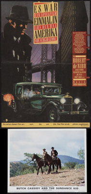 """Once Upon a Time in America & Other Lot (Warner Brothers, 1984). German A2 (11"""" X 16"""") & British Front..."""