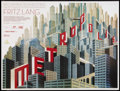 "Movie Posters:Science Fiction, Metropolis (Transit, R-2010). British Quad (30"" X 40"") DS. ScienceFiction.. ..."
