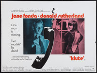 """Klute & Other Lot (Warner Brothers, 1971). British Quads (2) (30"""" X 40""""). Thriller. ... (Total: 2 Items)"""