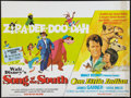 "Movie Posters:Animated, Song of the South / One Little Indian Combo (Walt Disney, R-1973).British Quads (2) (30"" X 40""). Animated.. ... (Total: 2 Items)"