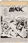 Original Comic Art:Splash Pages, Jack Kirby and Mike Royer Black Panther #9 Splash Page 1Original Art (Marvel, 1978)....