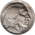 Buffalo Nickels: , 1918/7-D 5C VF30 NGC. A bold and problem-free example of thiselusive key-date issue, approaching Choice Very Fine. The sur...