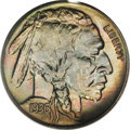 Proof Buffalo Nickels: , 1936 5C Type Two--Brilliant Finish PR67 PCGS. This is a fantasticexample of proof Buffalo nickel coinage, with a superlati...