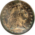 Early Half Dimes: , 1795 H10C MS61 NGC. V-6, LM-9, R.4. There is one berry on theinside wreath under the left wing, none on the outside. On th...