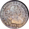 Early Half Dimes: , 1797 H10C 15 Stars VF20 ANACS. V-2, LM-1, R.3. Both 7s in the dateare small on this 15 Stars variety, the only use of this...
