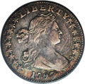 Early Half Dimes: , 1797 H10C 16 Stars VF30 PCGS. V-4, LM-2, R.4. The Draped Bust,Small Eagle type was only struck in 1796 and 1797, and most ...