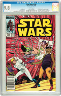 Modern Age (1980-Present):Science Fiction, Star Wars #104 Savannah pedigree (Marvel, 1986) CGC NM/MT 9.8 Whitepages....