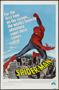 """Spider-Man (Columbia, 1977). One Sheet (27"""" X 41""""). Action"""