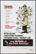 "Movie Posters:Comedy, The Return of the Pink Panther & Other Lot (United Artists,1975). One Sheets (2) (27"" X 41""). Flat Folded. Style B and Regu...(Total: 2 Items)"
