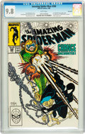 Modern Age (1980-Present):Superhero, The Amazing Spider-Man #298 Savannah pedigree (Marvel, 1988) CGCNM/MT 9.8 White pages....