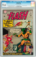 Silver Age (1956-1969):Superhero, The Flash #161 (DC, 1966) CGC NM+ 9.6 Off-white to white pages....