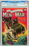 "Golden Age (1938-1955):War, All-American Men of War #128 Davis Crippen (""D"" Copy) pedigree (DC, 1952) CGC VF- 7.5 Cream to off-white pages...."