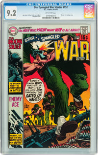 Star Spangled War Stories #152 (DC, 1970) CGC NM- 9.2 Off-white pages