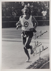 1974 Steve Prefontaine Signed Photograph