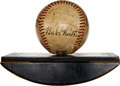"Autographs:Baseballs, 1942 ""The Pride of the Yankees"" Cast Signed Baseball with Babe Ruth, Gary Cooper...."
