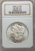 Morgan Dollars: , 1888-O $1 MS63 Prooflike NGC. NGC Census: (289/371). PCGSPopulation (219/336). Numismedia Wsl. Price for problem free NGC...