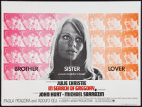 """In Search of Gregory & Other Lot (Universal, 1970). British Quads (2) (30"""" X 40""""). Romance. ... (Total: 2..."""
