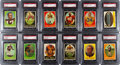 Football Cards:Sets, 1958 Topps Football PSA-Graded Cello Pack Collection (36)....