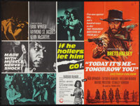 If He Hollers, Let Him Go! / Today It's Me - Tomorrow You Combo & Other Lot (Cinerama Releasing, R-1968). British Qu...