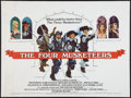 """Movie Posters:Swashbuckler, The Four Musketeers & Other Lot (20th Century Fox, 1975). British Quad (30"""" X 40""""). Swashbuckler.. ... (Total: 2 Items)"""