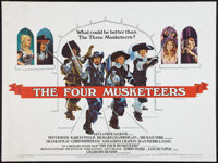 """The Four Musketeers & Other Lot (20th Century Fox, 1975). British Quad (30"""" X 40""""). Swashbuckler. ... (Tot..."""
