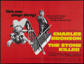"""Movie Posters:Crime, The Stone Killer and Other Lot (Columbia, 1973). British Quads (2) (30"""" X 40""""). Crime.. ... (Total: 2 Items)"""