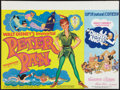 "Movie Posters:Animated, Peter Pan / Charley and The Angel and Other Lot (Walt Disney Productions, R-1973). British Quads (2) (30"" X 40""). Animated.... (Total: 2 Items)"
