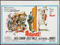 """Avanti! and Other Lot (United Artists, 1972). British Quads (2) (30"""" X 40""""). Comedy. ... (Total: 2 Items)"""