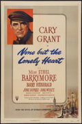 """Movie Posters:Drama, None But The Lonely Heart (RKO, 1944). One Sheet (27"""" X 41""""). Drama.. ..."""
