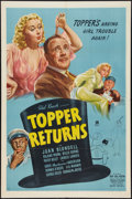 """Movie Posters:Comedy, Topper Returns (United Artists, 1941). One Sheet (27"""" X 41""""). Comedy.. ..."""