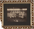 Baseball Collectibles:Photos, 1902-07 Springfield Ponies Cabinet Photograph with Roger Connor....