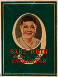 Baseball Collectibles:Others, 1920's Babe Ruth Underwear Box....