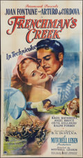 "Movie Posters:Adventure, Frenchman's Creek (Paramount, 1944). Three Sheet (41"" X 81"").Adventure.. ..."