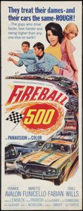 "Movie Posters:Action, Fireball 500 (American International, 1966). Insert (14"" X 36"").Action.. ..."