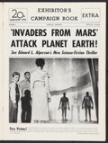 """Invaders from Mars (20th Century Fox, 1953). Uncut Pressbook (12 Pages, 11"""" X 15""""). Science Fiction"""