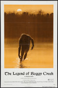 "Movie Posters:Thriller, The Legend of Boggy Creek (Howco, 1973). One Sheet (27"" X 41""). Thriller.. ..."