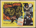"""Movie Posters:Science Fiction, The Creeping Unknown (United Artists, 1956). Half Sheet (22"""" X 28""""). Science Fiction.. ..."""