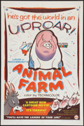 "Movie Posters:Animated, Animal Farm (DCA, 1955). One Sheet (27"" X 41""). Animated.. ..."