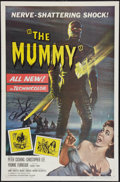 "Movie Posters:Horror, The Mummy (Universal International, 1959). One Sheet (27"" X 41"").Horror.. ..."
