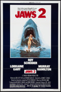 """Movie Posters:Horror, Jaws 2 & Other Lot (Universal, 1978). One Sheets (2) (27"""" X 41""""). Horror.. ... (Total: 2 Items)"""