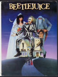 """Movie Posters:Comedy, Beetlejuice (Warner Brothers, 1988). Presskit (9"""" X 12"""") and Photos (4) (8"""" X 10""""). Comedy.. ..."""