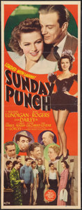 "Movie Posters:Sports, Sunday Punch (MGM, 1942). Insert (14"" X 36""). Sports.. ..."