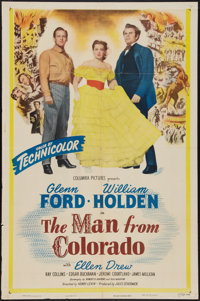 """The Man from Colorado (Columbia, 1948). One Sheet (27"""" X 41""""). Western"""