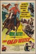 """Movie Posters:Western, The Old West (Columbia, 1952). One Sheet (27"""" X 41""""). Western.. ..."""
