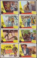 "Movie Posters:Western, Outlaw Country (Screen Guild Productions, 1948). Lobby Card Set of 8 (11"" X 14""). Western.. ... (Total: 8 Items)"