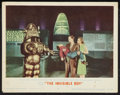 """Movie Posters:Science Fiction, The Invisible Boy (MGM, 1957). Lobby Card (11"""" X 14""""). ScienceFiction.. ..."""