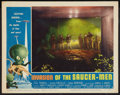 """Movie Posters:Science Fiction, Invasion of the Saucer-Men (American International, 1957). Lobby Card (11"""" X 14""""). Science Fiction.. ..."""