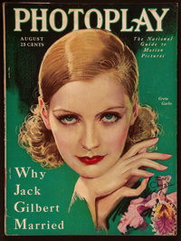 """Photoplay (Photoplay Publishing, August, 1929). Magazine (8.5"""" X 11.5"""", 146 Pages). Miscellaneous"""