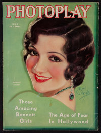 """Photoplay (Photoplay Publishing Company, July, 1931). Magazine (140 Pages, 8.5"""" X 11.5""""). Miscellaneous"""